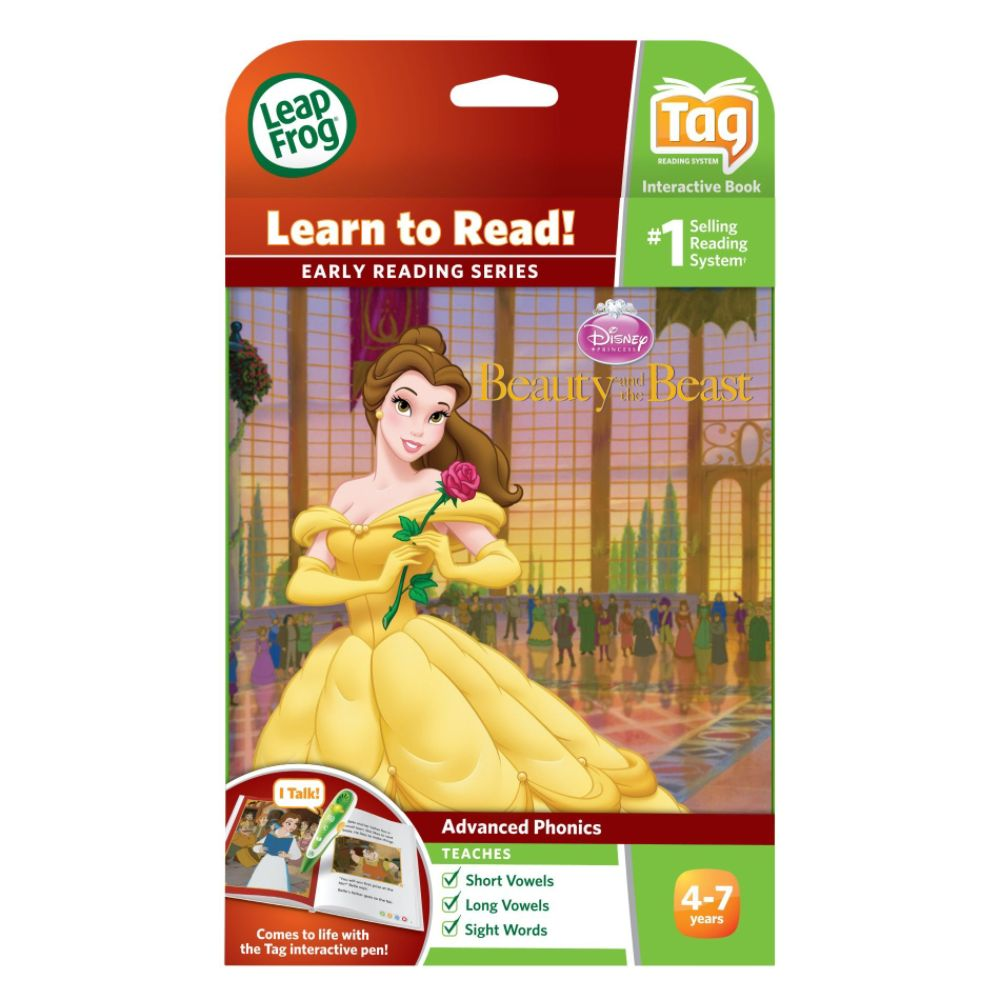 LeapFrog Tag Early Reading Book: Disney Beauty and the Beast: The Enchanted Rose