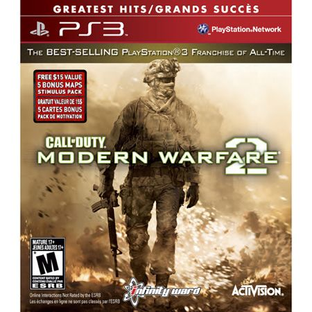 Activision Call of Duty: Modern Warfare 2 Greatest Hits