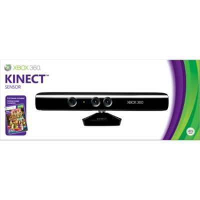 Microsoft Xbox 360 Kinect Sensor with Kinect Adventures game
