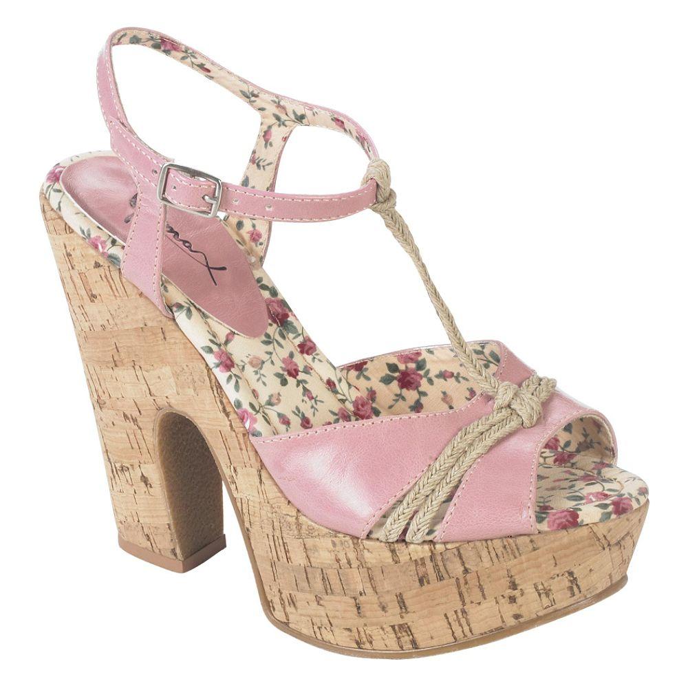 Go Max Women's JackieO-02 Platform Sandal - Tan Image
