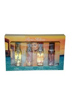 Paris Hilton Variety by Paris Hilton for Women - 4 Pc Mini Gift Set