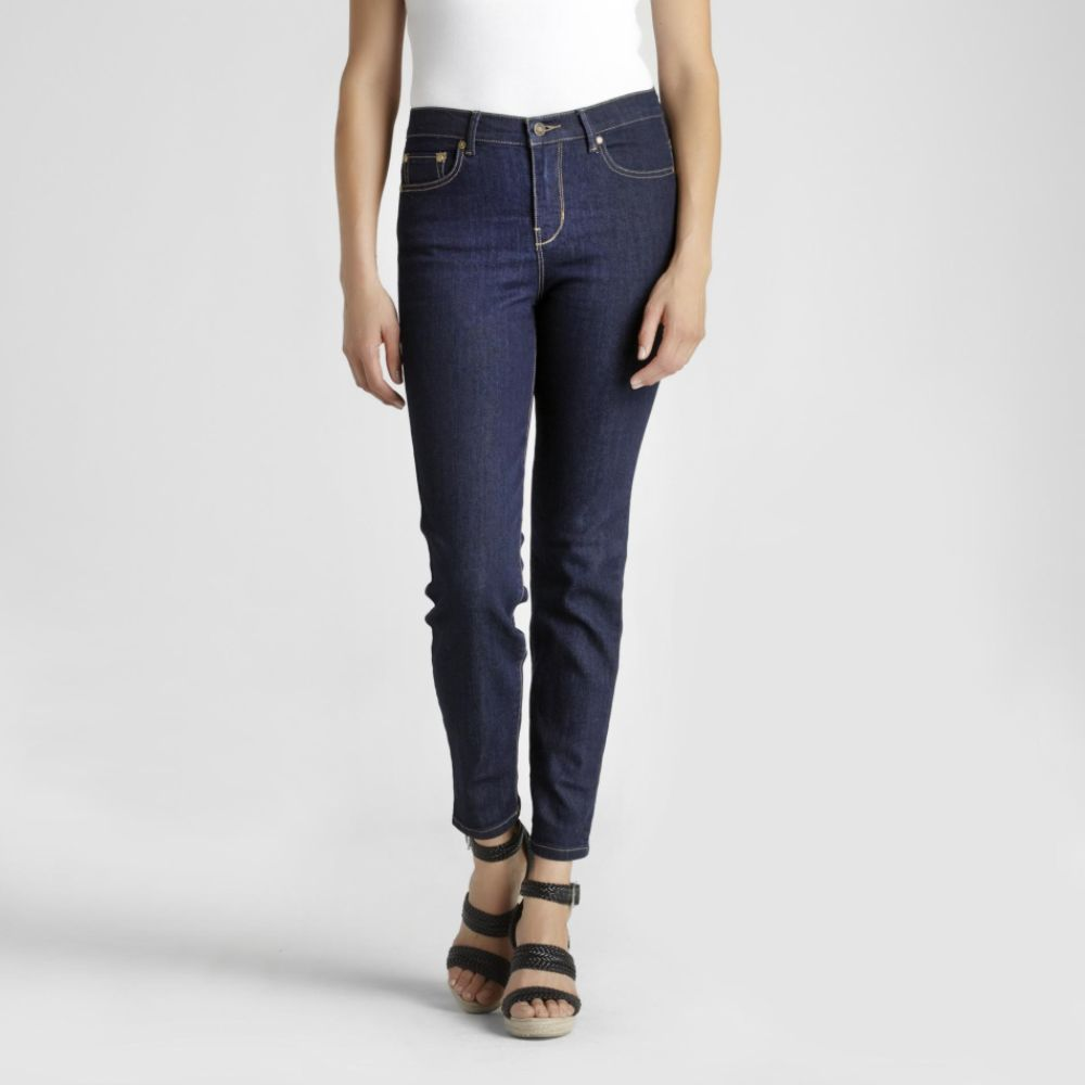 Jaclyn Smith Women's Slim Stretch Denim Pants