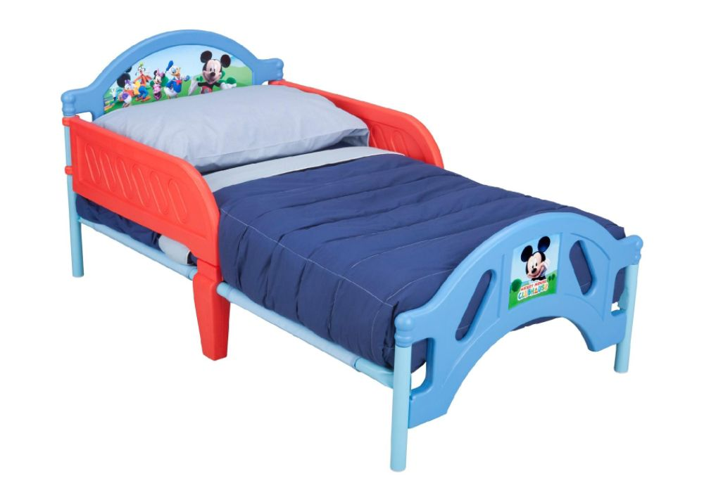 Delta Childrens DISNEY MICKEY MOUSE TODDLER BED Red/blue
