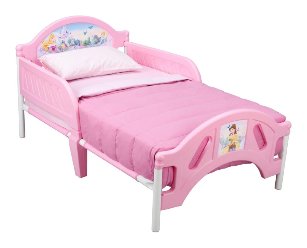 Delta Childrens DISNEY PRINCESS TODDLER BED Pink