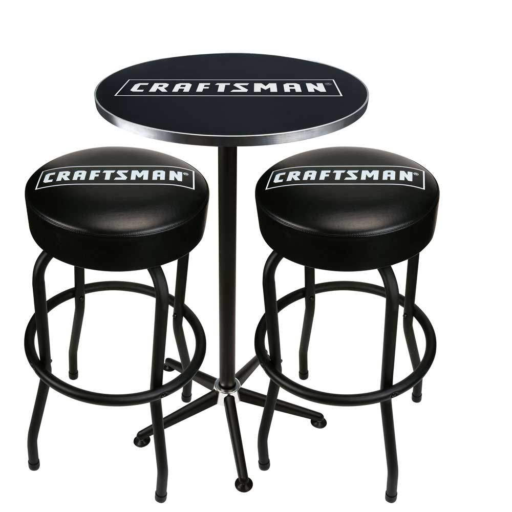 Craftsman Pub Table Amp Two Stool Combo 80 List 130