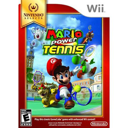 Mario Power Tennis Nintendo Selects NINTENDO OF AMERICA INC