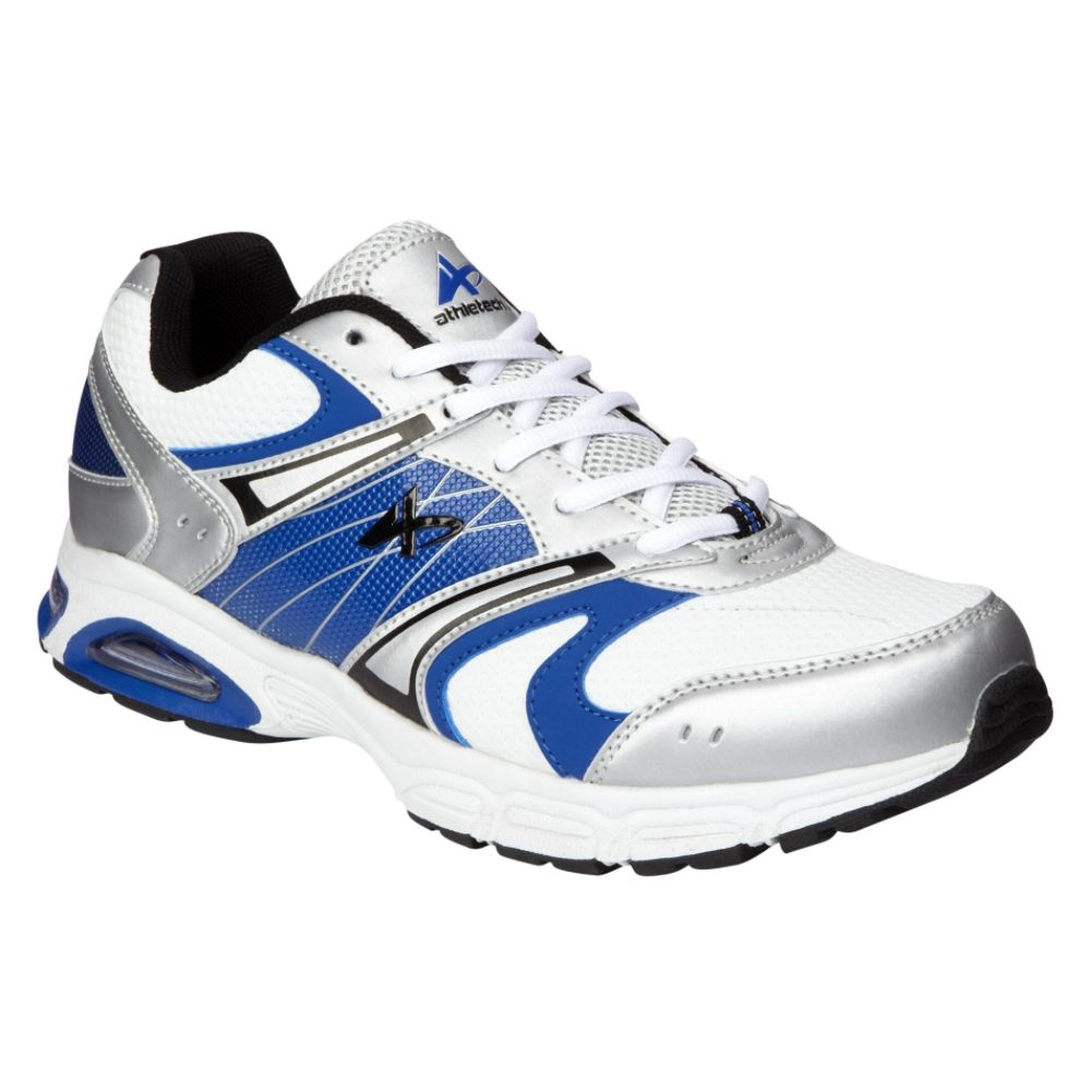 Athletech Men's Ath L-Skyway Athletic Shoe - White/Blue
