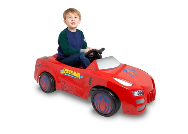Toys Toys Spiderman 6V Battery-Operated Ride-on Car