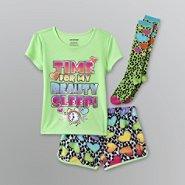 Joe Boxer Girl's Hearts Pajama Set - 3 Pc. at Sears.com