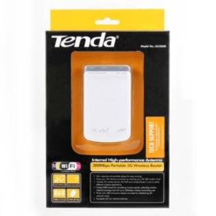Tenda  Tenda&#174 3G300M 300Mbps Portable Wireless N 3G Router