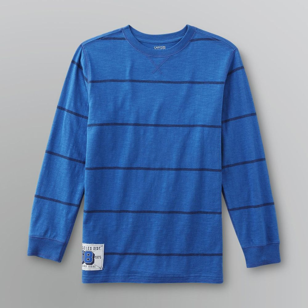 Canyon River Blues Boy's Slubbed Sweater Core Gray