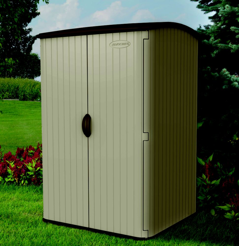 Spacious storage sheds and heavy-duty shelving can organize your valuable equipment, while keeping items safe from harmful weather conditions. Maintain your property with sheds, greenhouses and storage accessories from Kmart. A large storage shed is a great place to store messy lawn care supplies and bulky power tools.