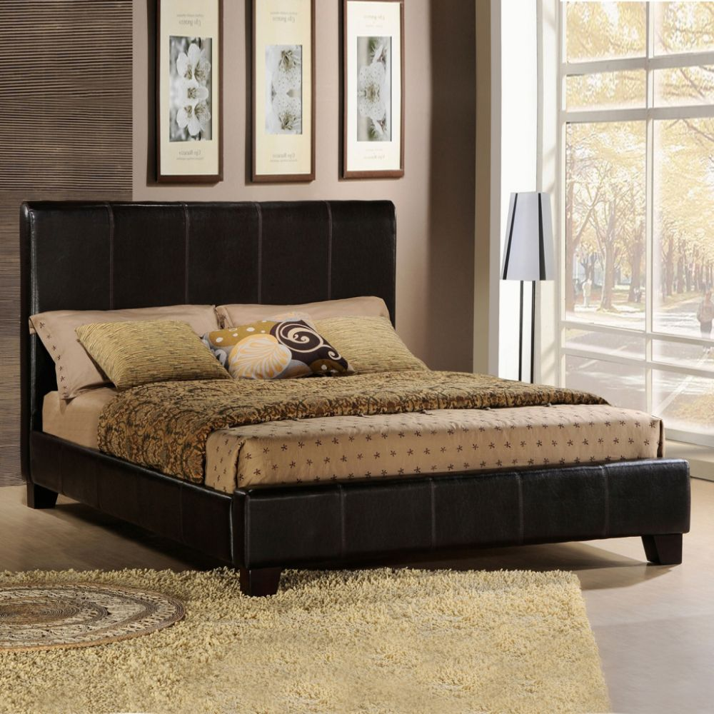 full size bed in black aga warehouse co inc