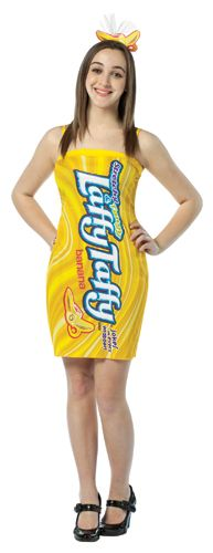 Nestle Laffy Taffy Banana Tank Dress Teen