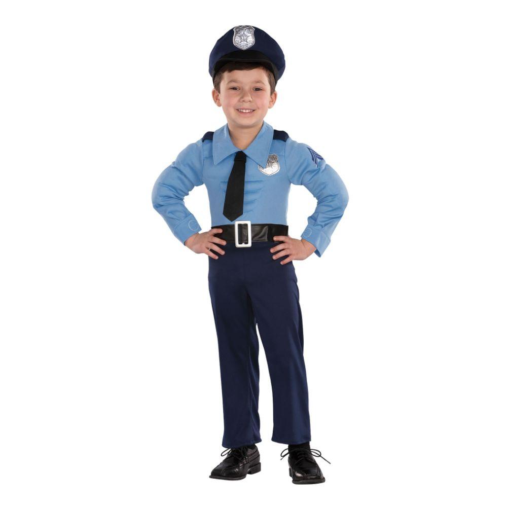Новогодний костюм полицейского своими руками фото