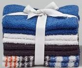 Cannon Cotton Washcloths - 8 Pack