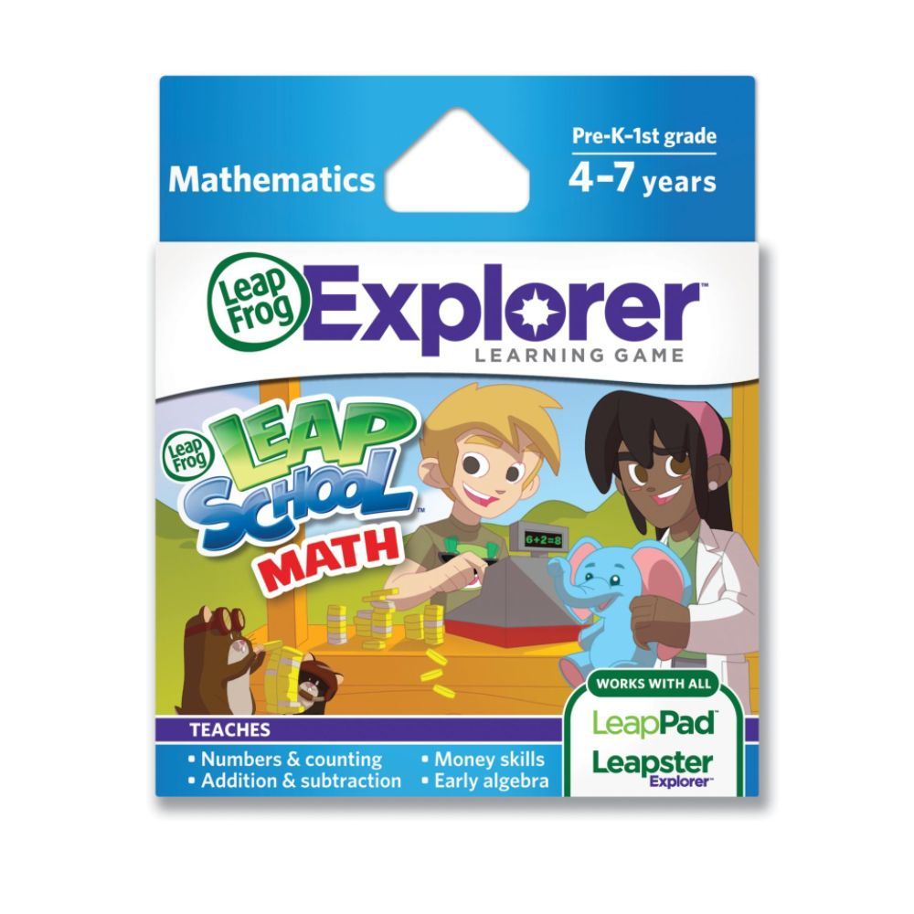 LeapFrog Explorer Learning Game: LeapSchool Math (works with LeapPad & Leapster Explorer)