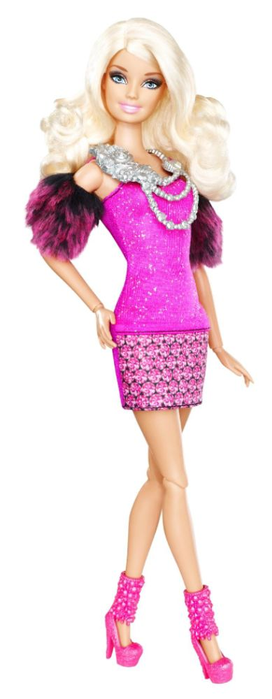 Barbie FASHIONISTAS FASHION FEVER DOLL BARBIE GLAM