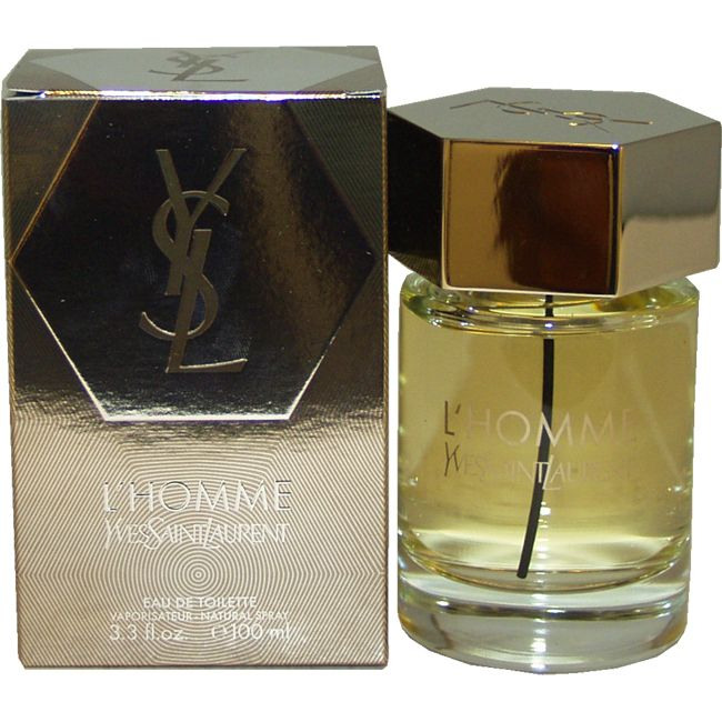 L'Homme by Yves Saint Laurent for Men - 3.3 oz EDT Spray