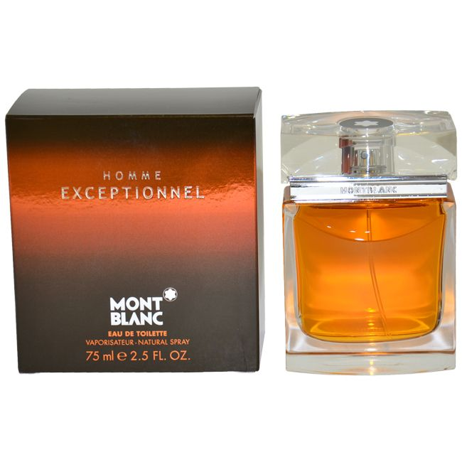 Mont Blanc Exceptionnel by Montblanc for Men - 2.5 oz EDT Spray