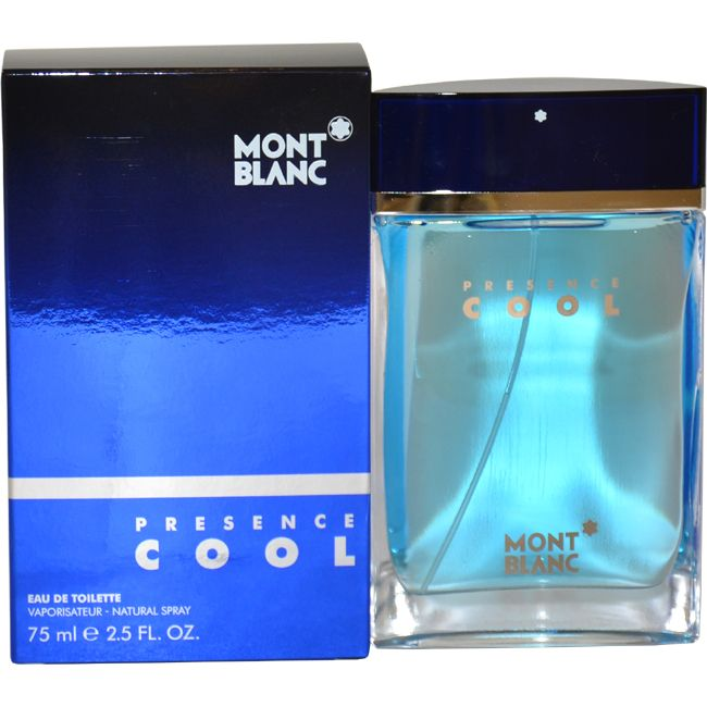 Mont Blanc Presence Cool by Montblanc for Men - 2.5 oz EDT Spray