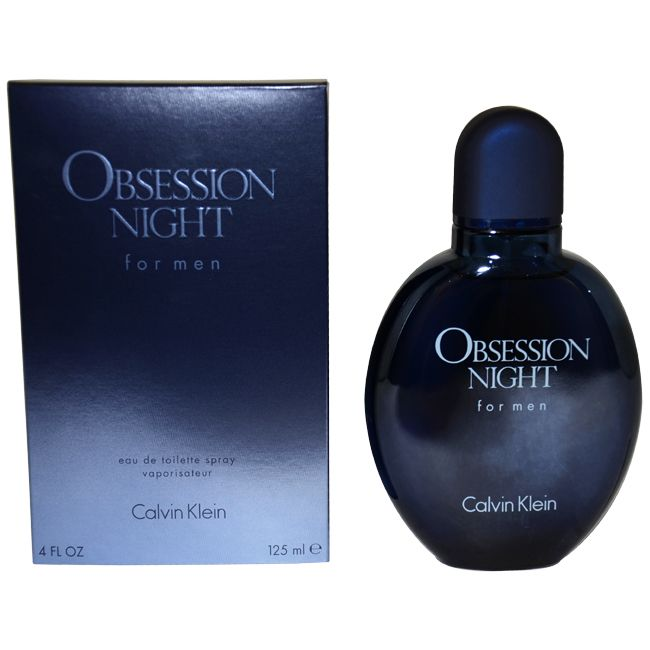 Obsession Night by Calvin Klein for Men - 4 oz EDT Spray
