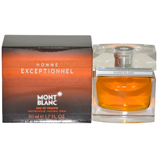 Mont Blanc Exceptionnel by Montblanc for Men - 1.7 oz EDT Spray