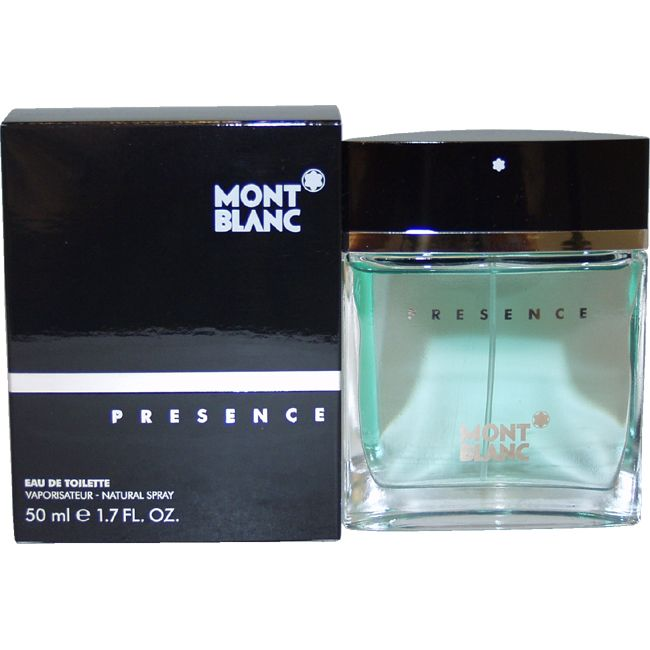 Mont Blanc Presence by Montblanc for Men - 1.7 oz EDT Spray