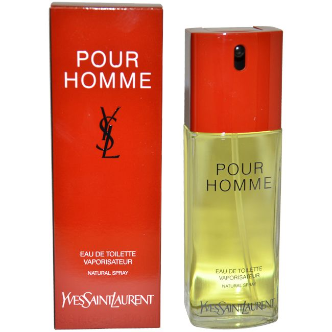 YSL by Yves Saint Laurent for Men - 3.3 oz EDT Spray