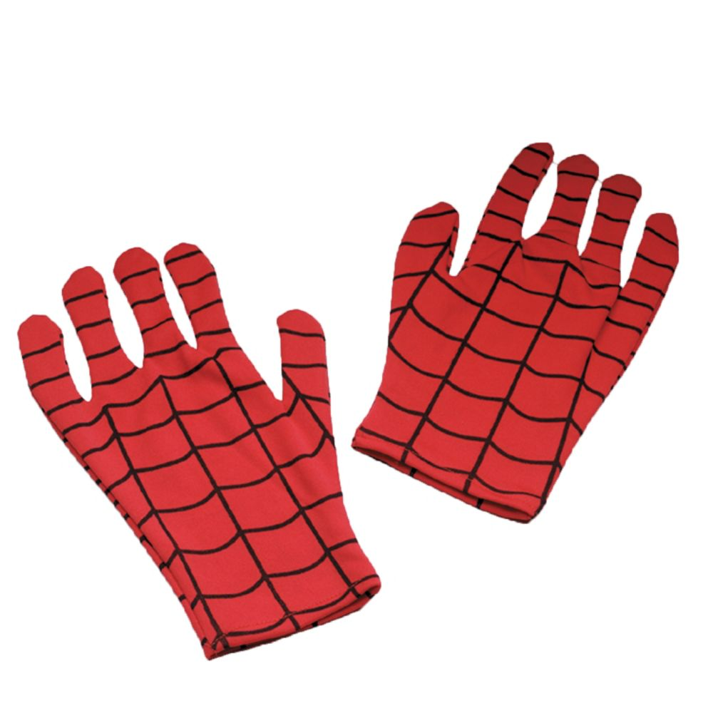 Disguise Spiderman Gloves Adult Comic Halloween Accessories