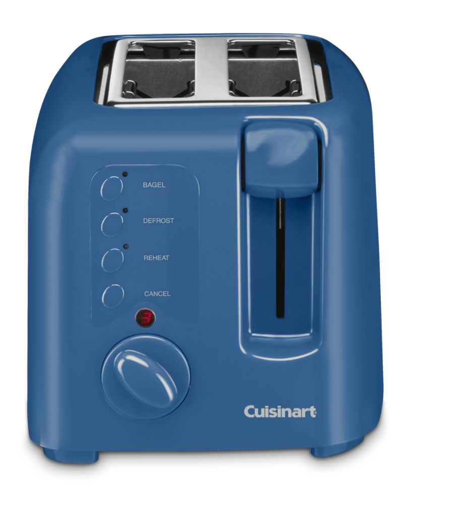 Cuisinart 2 Slice Toaster, Blue