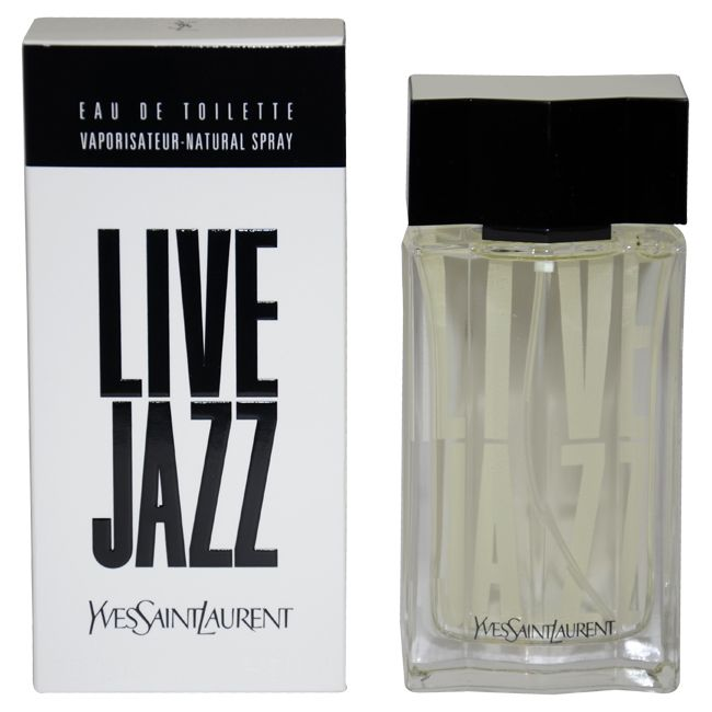 Live Jazz by Yves Saint Laurent for Men - 1.6 oz EDT Spray
