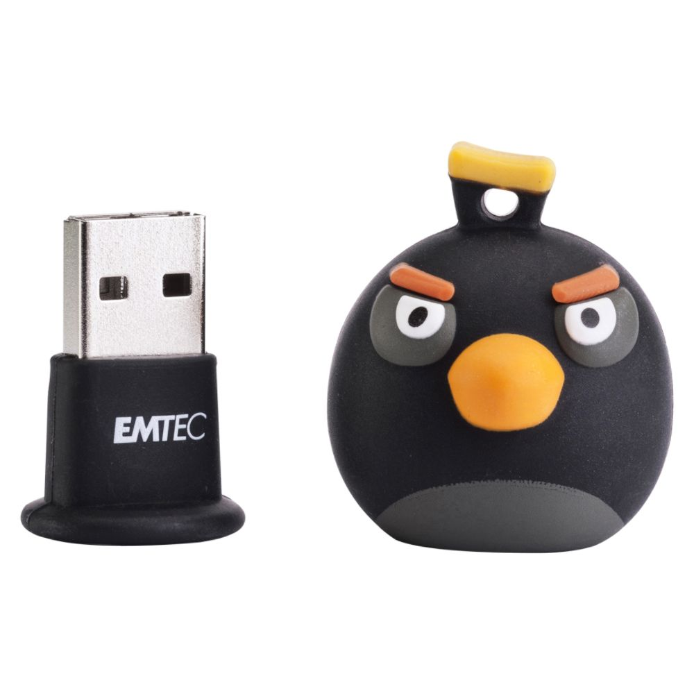 Sierra Accessories 4GB Angry Birds USB Flash Drive - Black