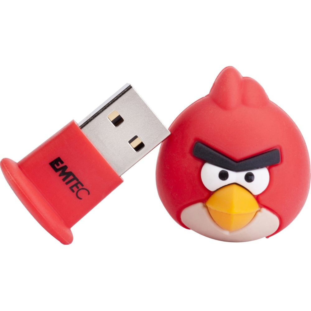 Sierra Accessories 4GB Angry Birds USB Flash Drive - Red