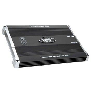Lanzar MXA244 3000 Watt 2 Channel Bridgeable MOSFET Amplifier