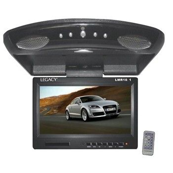 Legacy LMR10.1 High Resolution TFT Roof Mount Monitor w/ IR Transmitter & Wireless Remote Control