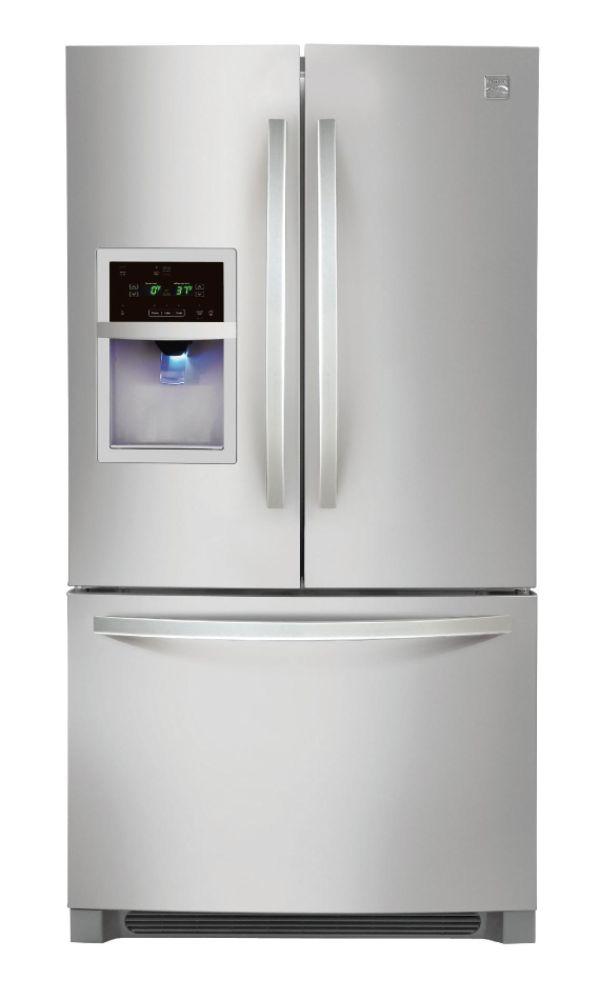 Bottom mount french door refrigerator rf265aars