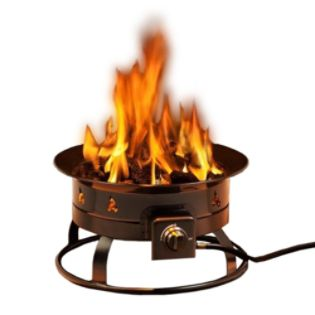 HEININGER  Portable Propane Outdoor Fire Pit 58,000 BTU