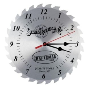 Craftsman  12 In, Vintage Clock Shop