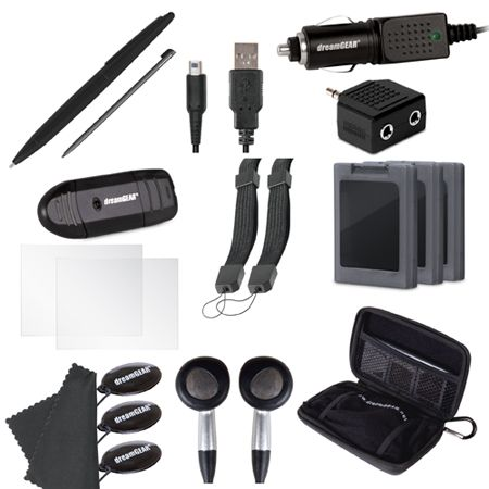 dreamGEAR 3DS XL 20 in 1 Essentials Kit 3DS
