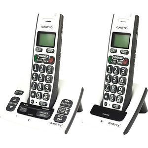 Clarity DECT 6.0 Cordless Big Button Phone With Digital Answering Machine - 2 Handsets- 50615.000