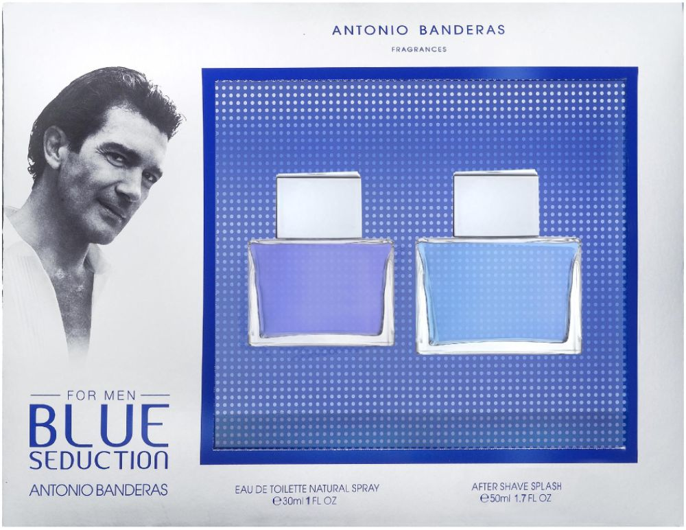 Antonio Banderas Blue Seduction 2-Piece Set
