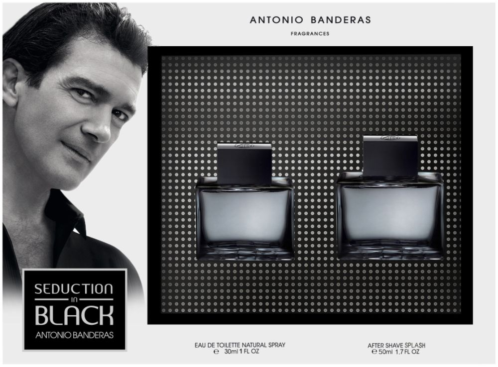 Antonio Banderas Black Seduction 2-Piece Set