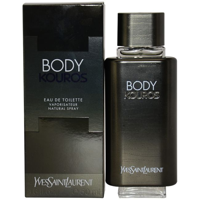 Kouros Body by Yves Saint Laurent for Men - 1.6 oz EDT Spray