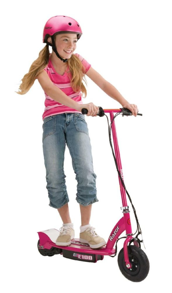 E 100 Electric Scooter, Pink