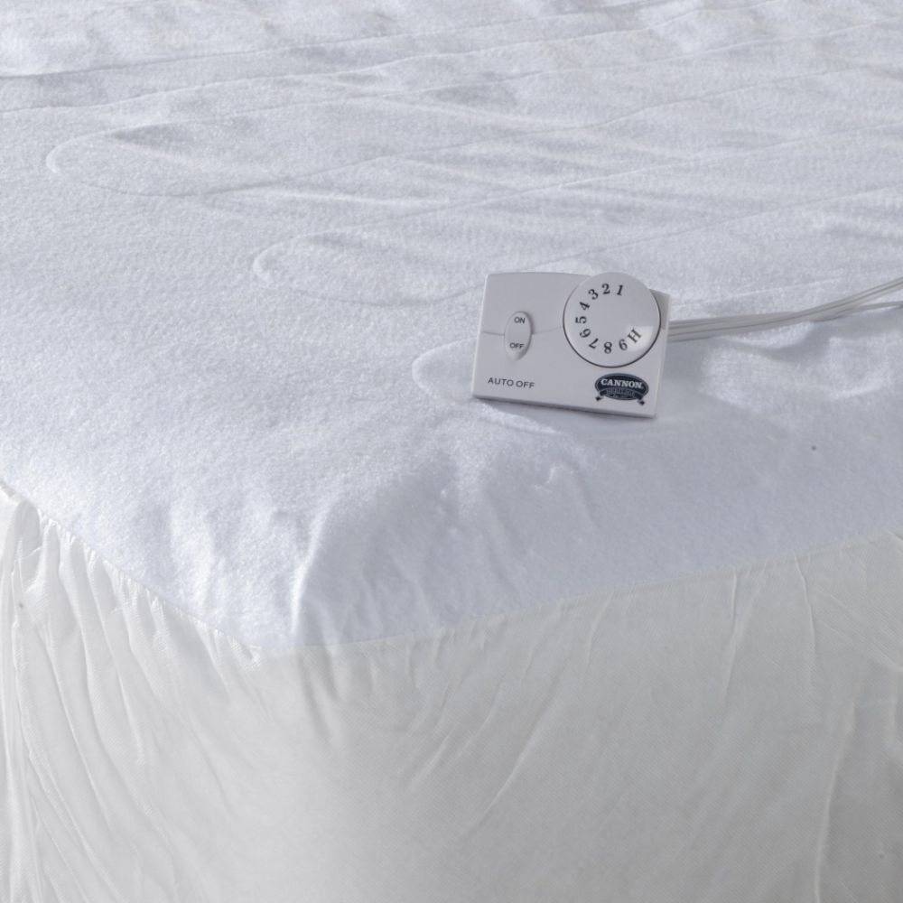 Cannon Quilted Heated Mattress Pad California king (09672914000  5904-9321113-100) photo