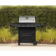 BBQ Pro 4 Burner Gas Grill with Stainless Steel Lid, Cover, & Accessories Bundle at Sears.com