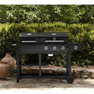 3 Burner Charcoal/Gas Combo Grill, Cover, & Accessories Bundle at Kmart.com