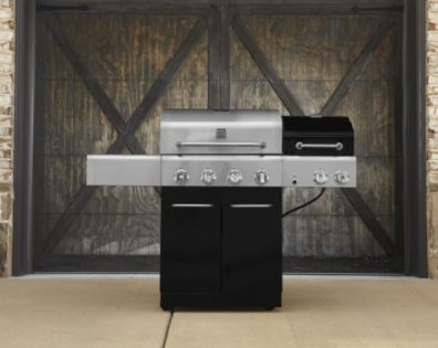 Kenmore  4 Burner Gas Grill with Oven