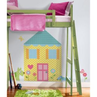 RoomMates  Build-a-House Peel & Stick MegaPack Wall Decals